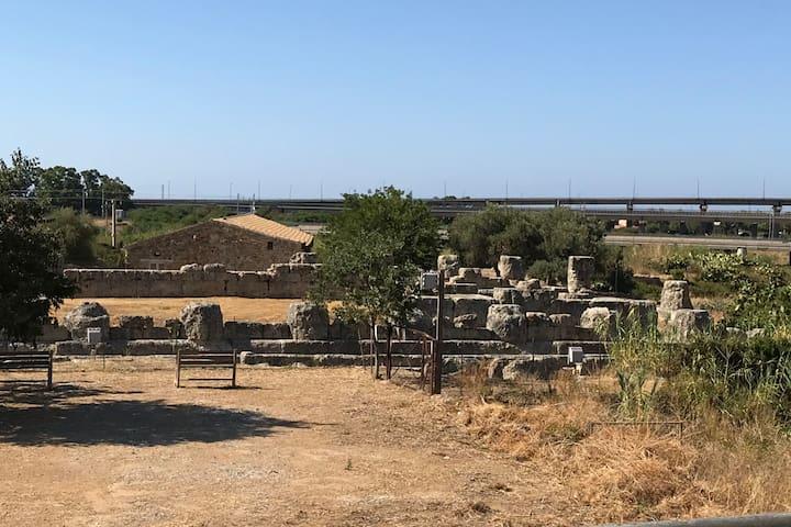 Le case di Himera