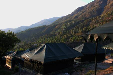 Camp Dharamshala-- luxury with peace