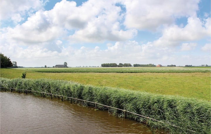Nice home in Lauwerzijl with WiFi and 1 Bedrooms