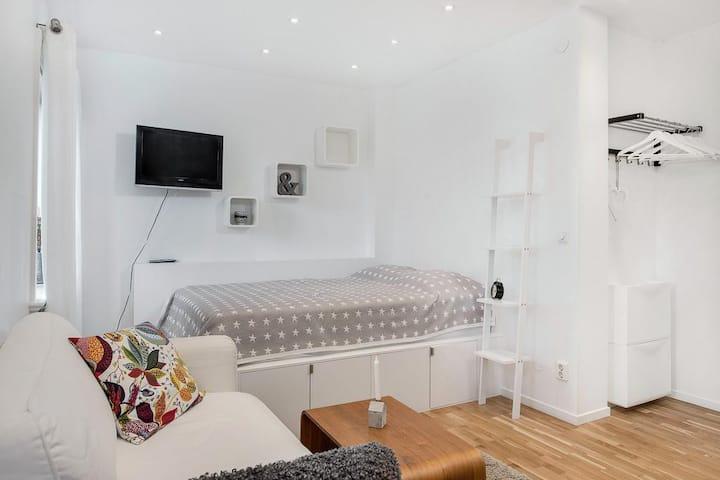 Mysig lägenhet nära Österport i Visby