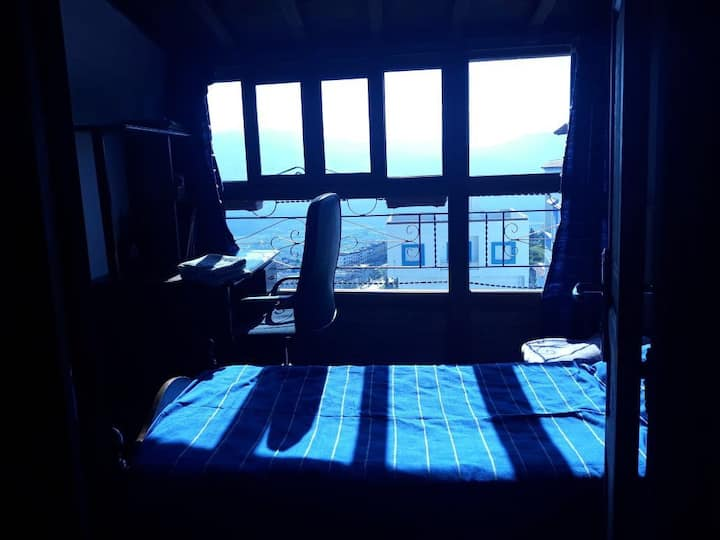 Wooden single room with the best view