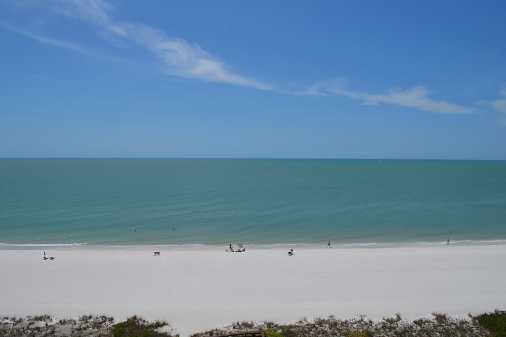 Wide Beach Views