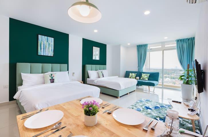 Midori Concept Home Stay@KSL D'Esplanade B28-18,JB