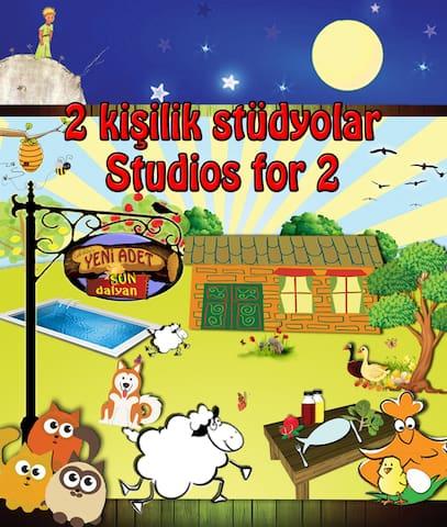Yeni Adet-Sun Dalyan Organic Studio-Half Board - Dalyan - Flat