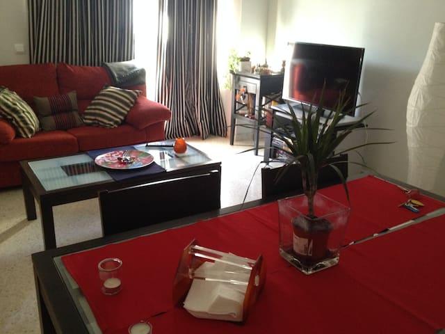 3 Schlafzimmer Free WiFi + Parking - Sevilla - Wohnung