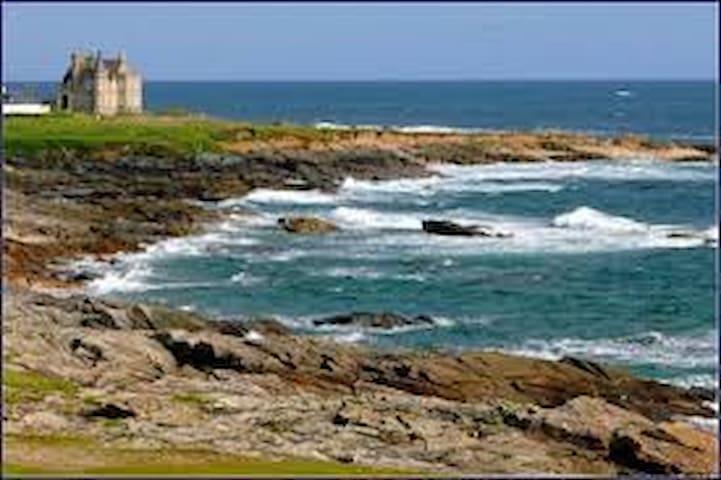 maison à louer proche côte sauvage - Quiberon - Dům