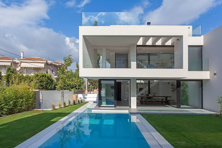 The Athens twin villas