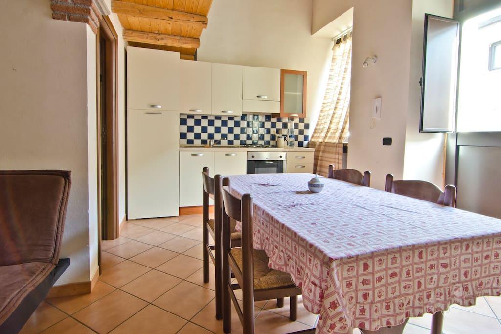 Kitchen Residence I LOVE SICILY