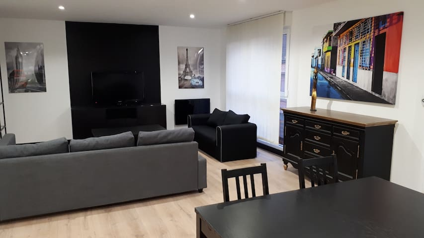 Appartement 2 chambres moderne bonne situation