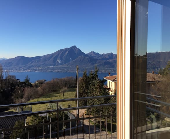 GardaRomance, balcony on Lake Garda - San Zeno - Apartmen