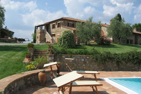 """VAL D'ORCIA POGGIO ISTIANO FARM HOLIDAY """"L'OLIVO"""" - Castiglione d'Orcia - Appartamento"""
