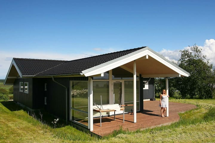 Cozy Holiday Home in Hovedstaden Denmark with Terrace