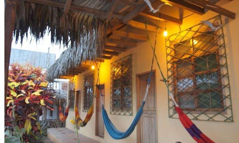 MANGLARALTO SUNSET HOSTEL-  Room  2 - Manglar Alto - Bed & Breakfast