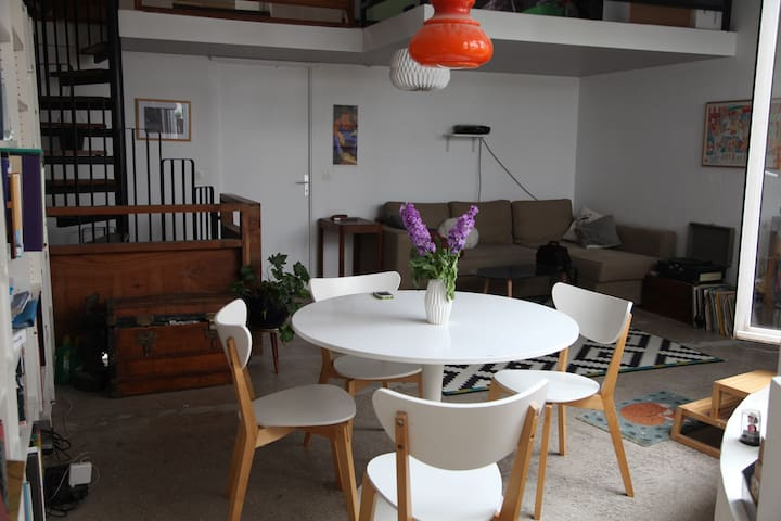 Loft with small terrace - Aubervilliers - Loft