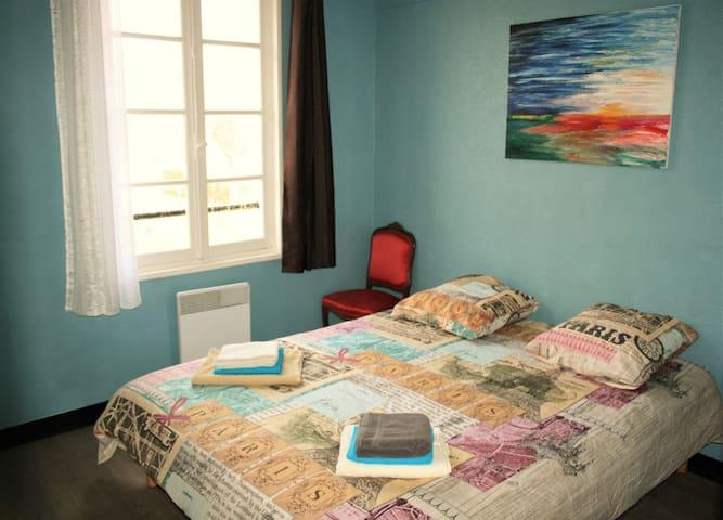 """""""Les Roches"""" - Merry-sur-Yonne - Double Room 1 - Merry-sur-Yonne - Huis"""