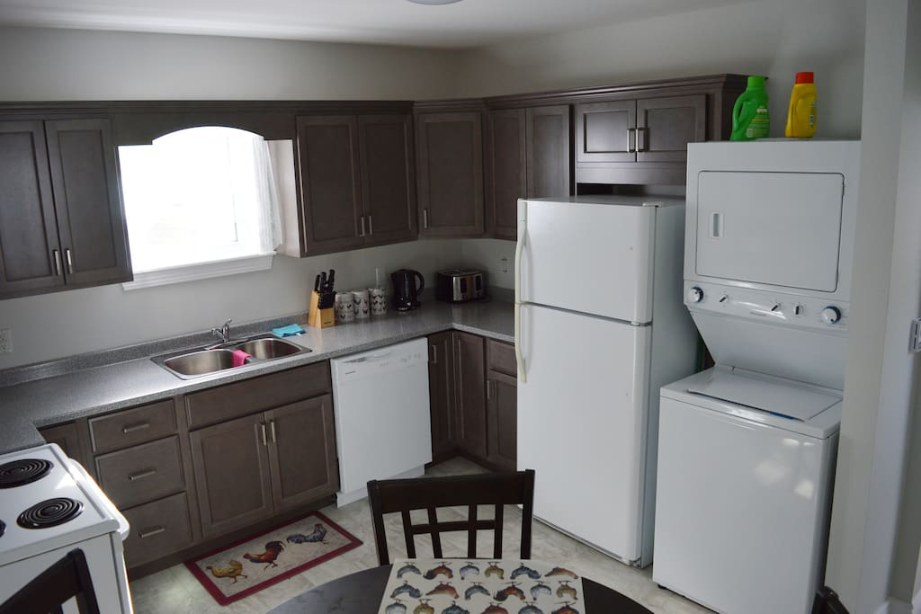 Renovated  Kitchen with Laundry