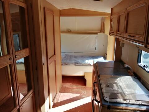 Wohnwagen in der Serra da Estrela zu vermieten