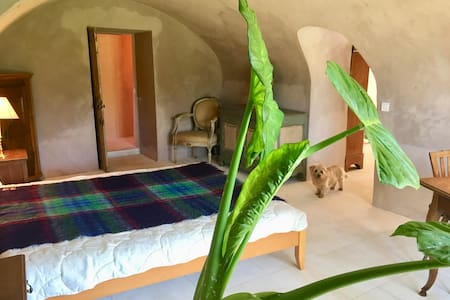 "Private apartment in old ""bergerie"" in Luberon - Ménerbes - 宾馆"