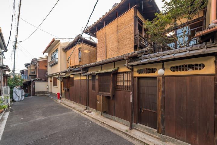 慶有魚·大小松(Kyotofish·Omatsu&Komatsu)*枯山水红叶坪庭*顶级桧木浴缸