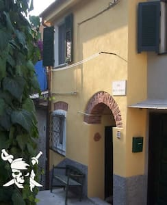 Romantic little Pirate´s House, free WiFi - Monterosso Al Mare