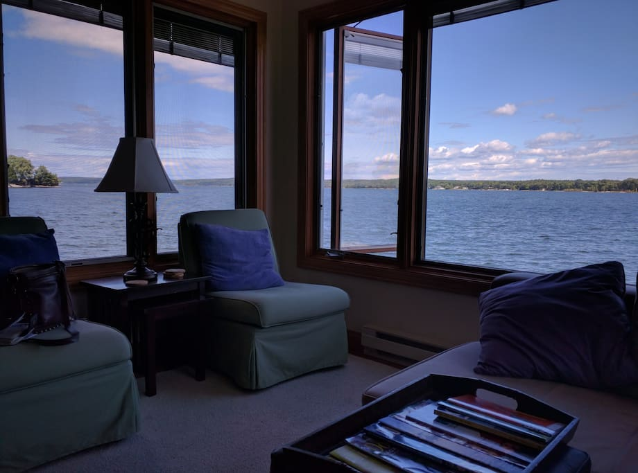 Water View from Living Room