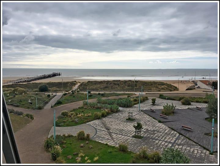 Appartement T3 vue sur mer avec Loggia