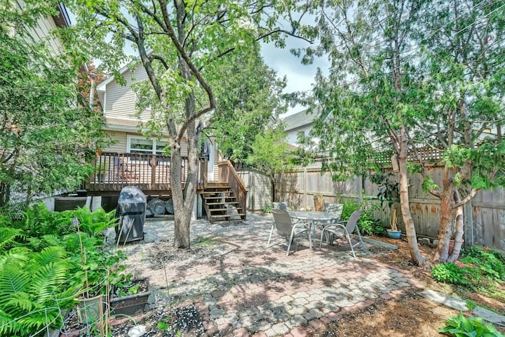 Backyard oasis in Little Italy with free parking