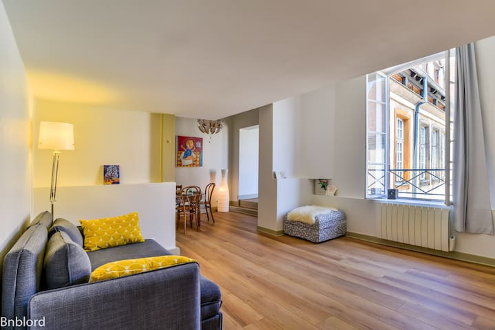 Exceptionnal flat in city centre