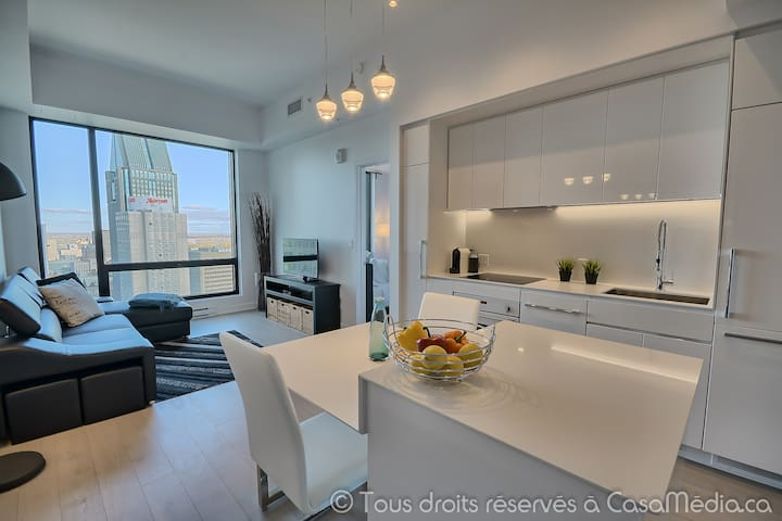 STUNNING VIEW,great location, Downtown Montreal. - Montréal - Condominium