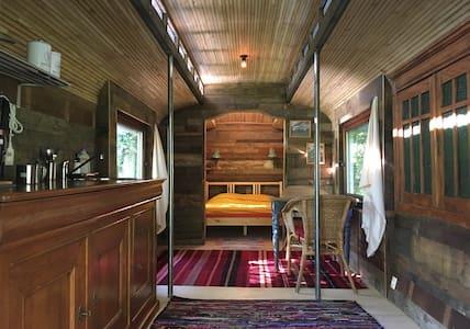 Beautiful bohemian caravan