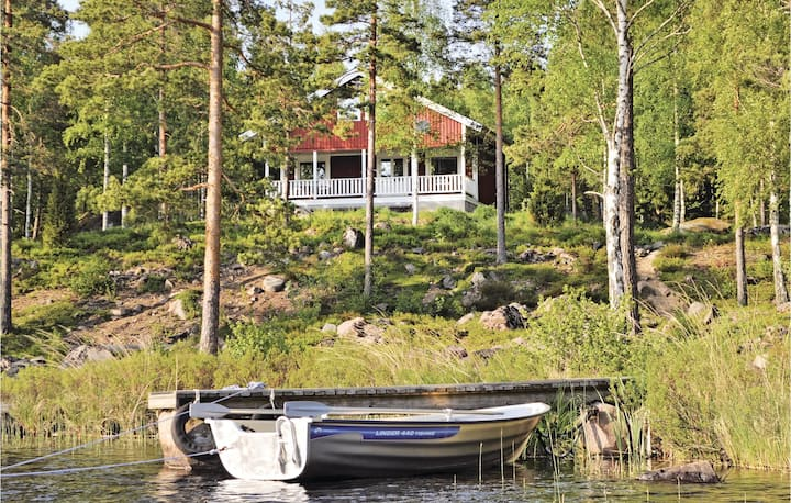 Awesome home in Fröseke with Sauna and 4 Bedrooms