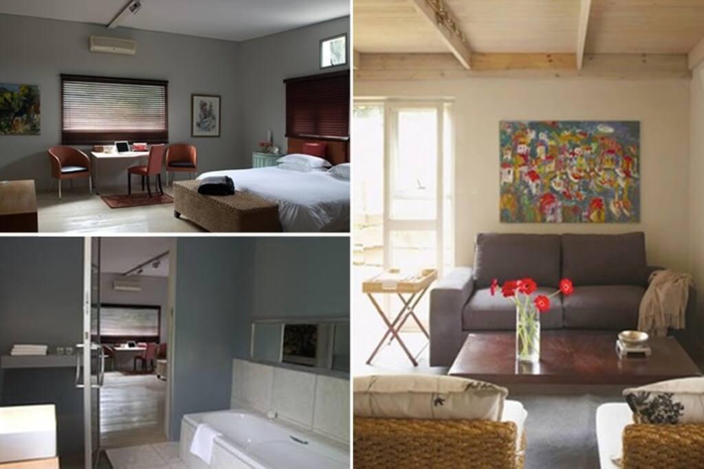 Loft 2 Bedroom, Bathroom & Lounge