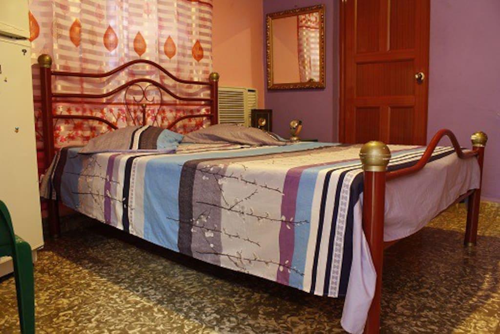 Dormitorio de la Habitacion 1