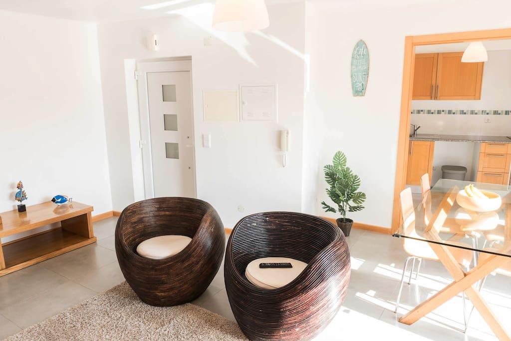 Sala de estar/Living room
