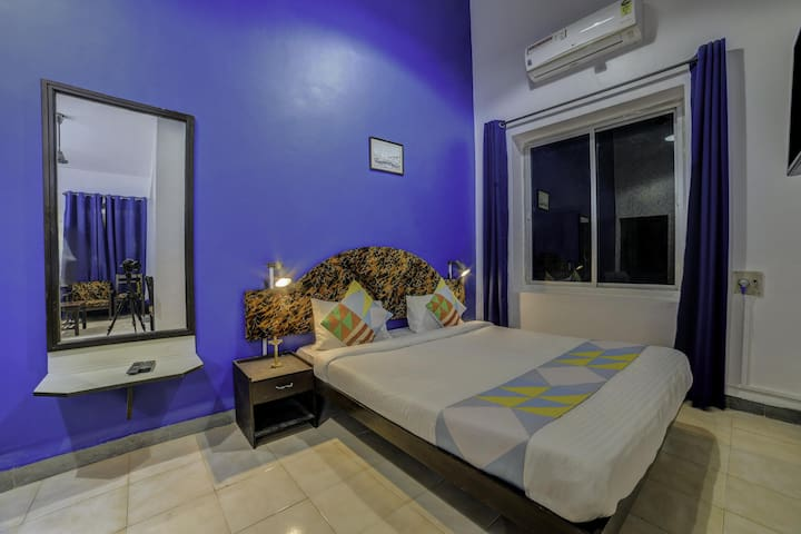 OYO Discounted! - Elegant 1BHK Stay, Calangute, Goa