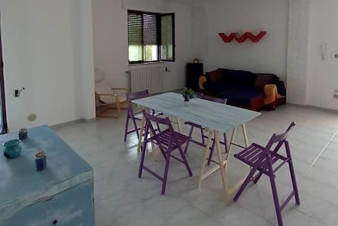 Spazioso appartamento, luminoso e accogliente