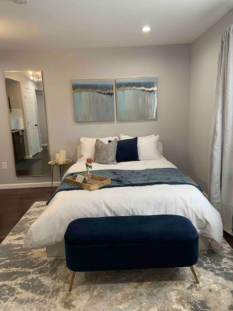 COZY QUEEN BED APARTMENT | DREXEL, UPENN, CHOP
