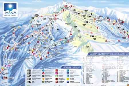 Ski apartmán CHOPOK JASNA - Demänovská Dolina - Daire