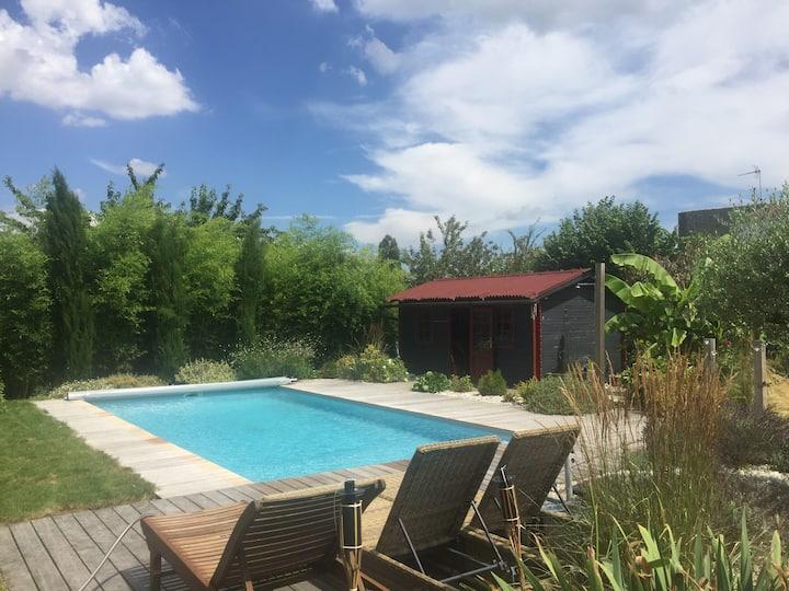 Belle villa avec Piscine en Charente Maritime
