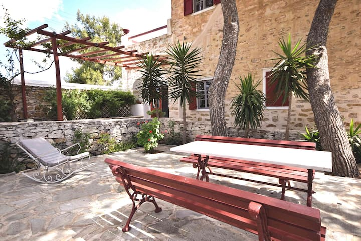 Villa Gaia Syros | 1800's Stone Building