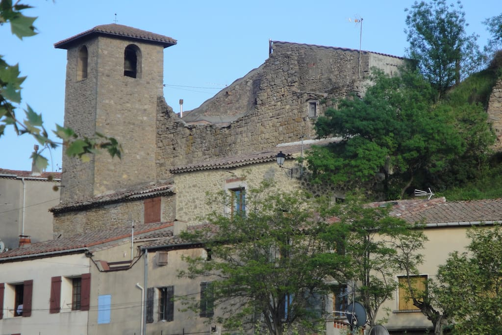 La maison sous le château