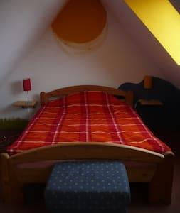Gemütliches Dachgeschoßzimmer mit Küche und Bad - Münster