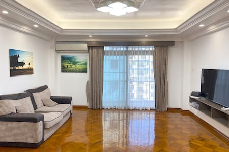 Clean & Spacious - Heart of Yangon  [3 BedRoom]