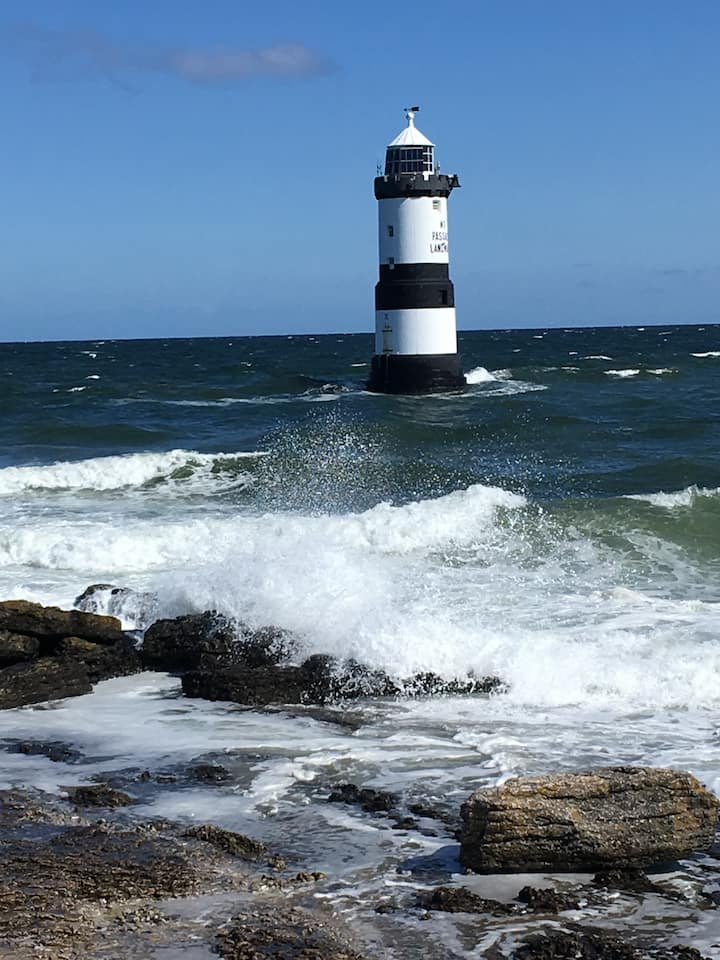 The Lighthouse at Penmon Point