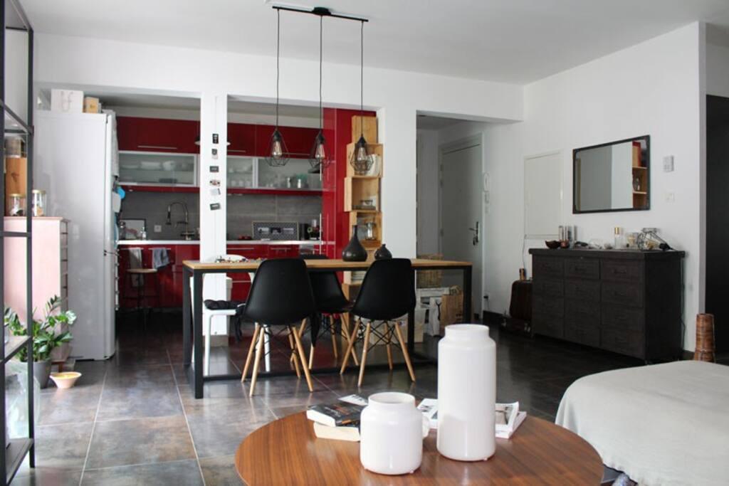 Appartement design et cosy proche de strasbourg for Grand appartement design