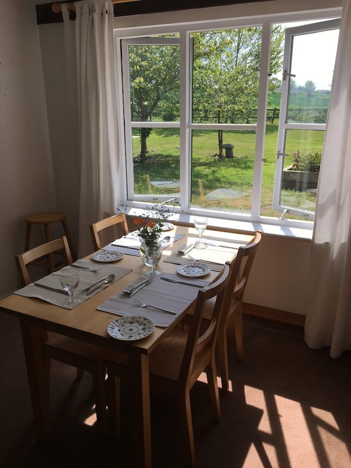 Rural cottage close to Framlingham