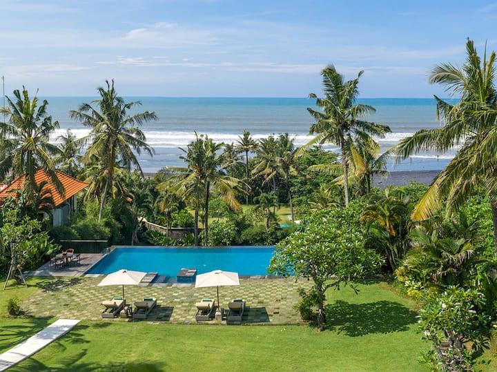 Seaview Villa Kailasha, 8BR, Tabanan w/ chef