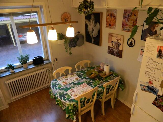 Charming flat with all you need - 10 min to centre - Uppsala