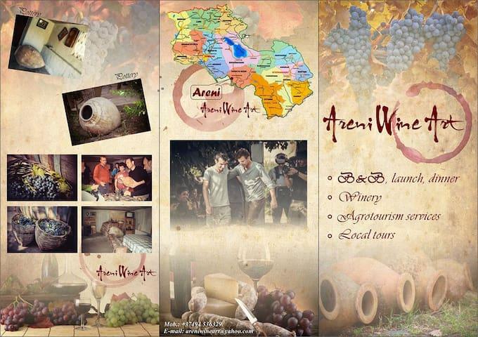 Areni Wine Art B&B