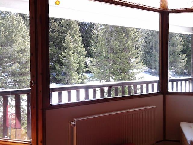 studio cabine 4 pers pied des pistes a 1750